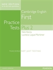 Obrazek Cambridge Practice Tests Plus New Edition 2014 First Students' Book with Key